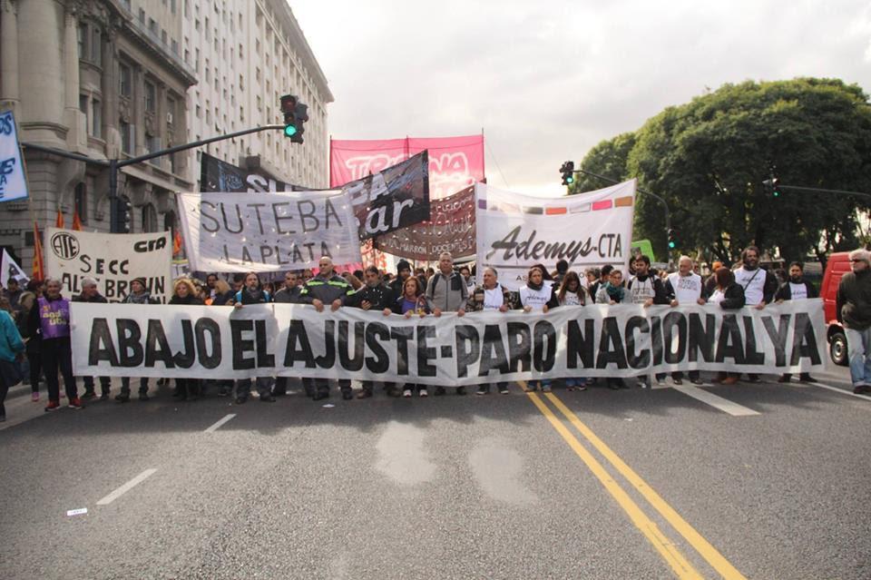 Gremios de todo el país marcharán hacia Buenos Aires