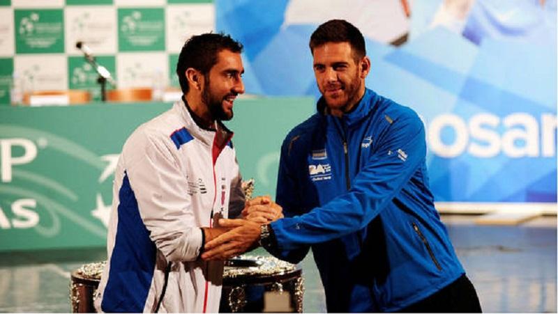 Del Potro y Delbonis ganan y Argentina se proclama campeona