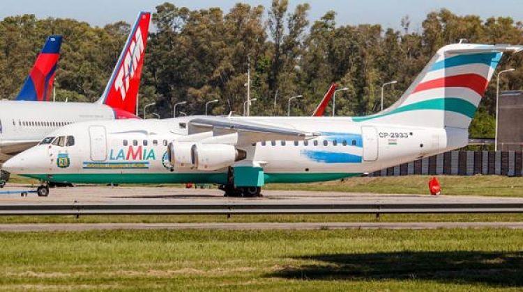 Suspenden permiso operación de Lamia y a autoridades bolivianas aeronáuticas