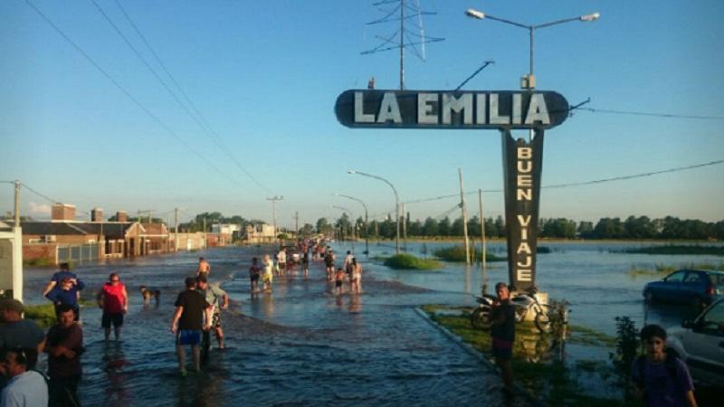 El Gobierno confirmó un muerto por las inundaciones en Buenos Aires