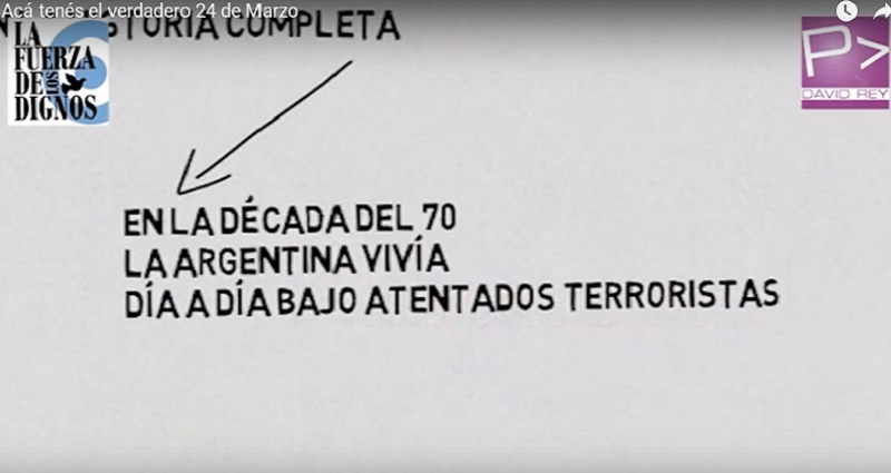 Un video a favor de la dictadura en una escuela porteña — Escándalo