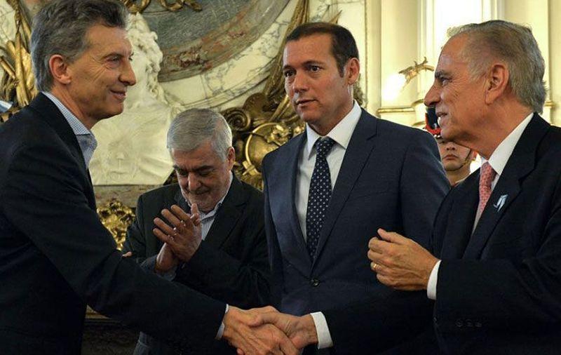 Donald Trump recibió a presidente argentino en la Casa Blanca