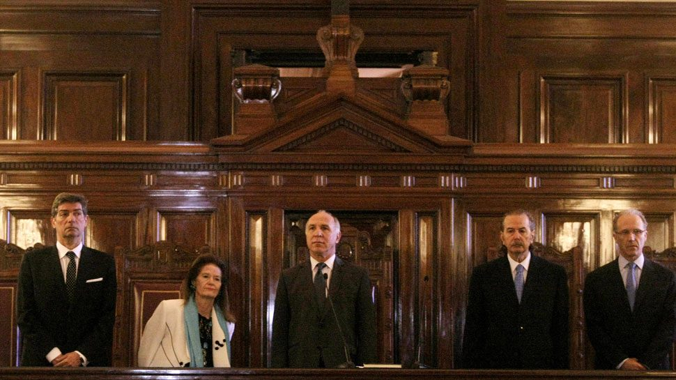 Ministerios de justicia se manifestaron en contra del 2x1
