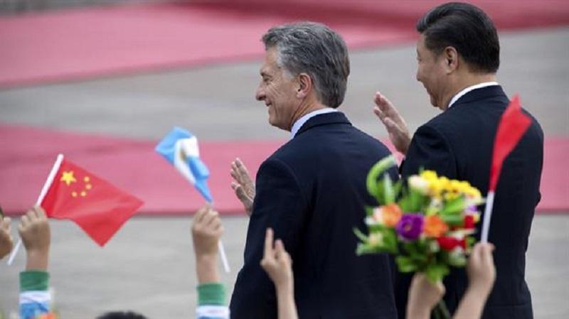 Macri firma acuerdos por US$ 15 mil millones en China