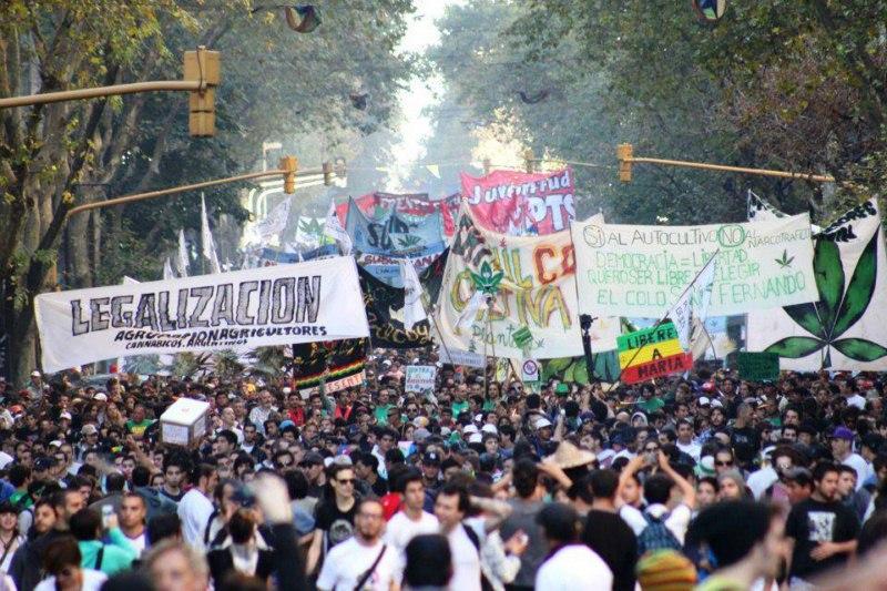 Marcha, legalización marihuana