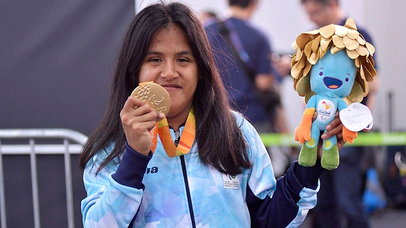Quitaron la pensión a la campeona paralímpica Yanina Martínez