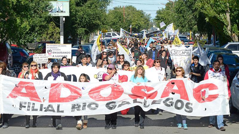 Nación citó al Gobierno y docentes de Santa Cruz