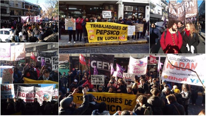 Nodesalojenpepsico movilizaci n de los trabajadores y for Juzgado san isidro