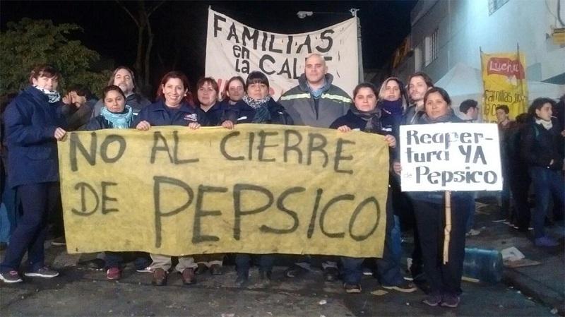 La respuesta de Vidal tras la represión y el cierre de PepsiCo