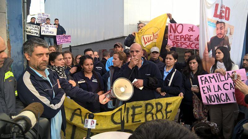 Trabajadores de Pepsico se movilizarán al Ministerio de Trabajo