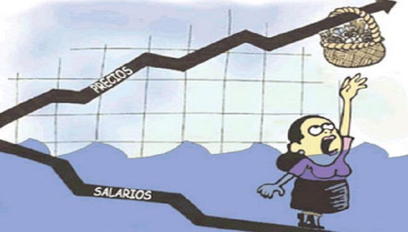 Para los gremios también aumentó — Inflación