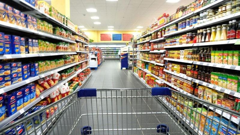Los precios en supermercados subieron un 5% en julio