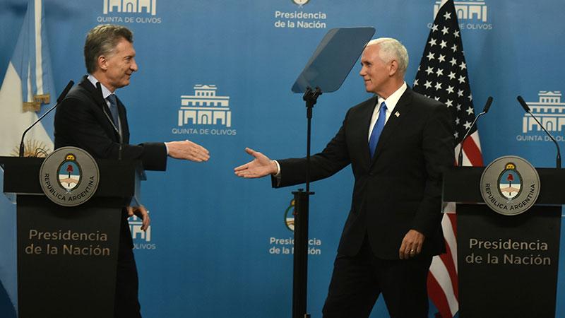 Tareck El Aissami rechazó nuevas agresiones de Mike Pence