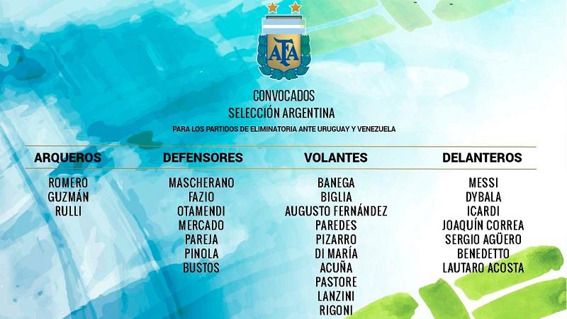 Tienda devolverá dinero si no clasifica a Rusia 2018 — Selección argentina