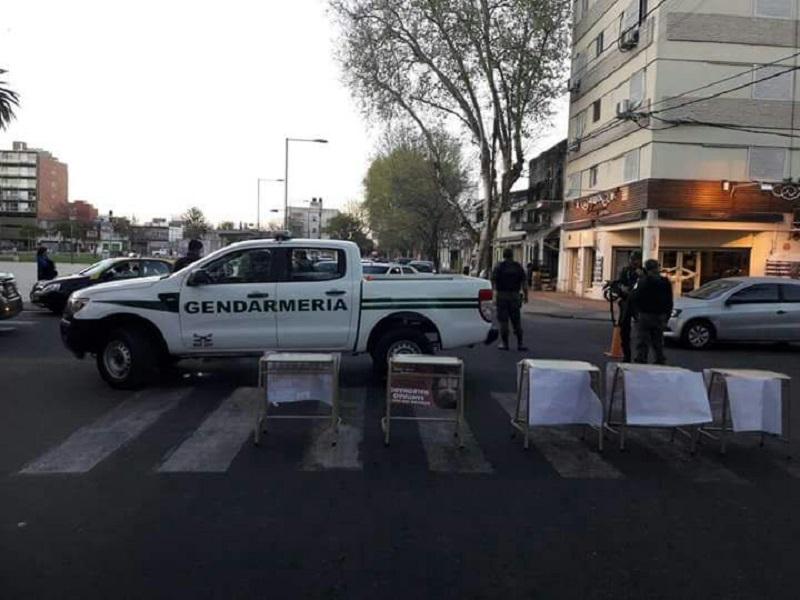 Gendarmería amedrentó a estudiantes que hablaban de Maldonado en Rosario