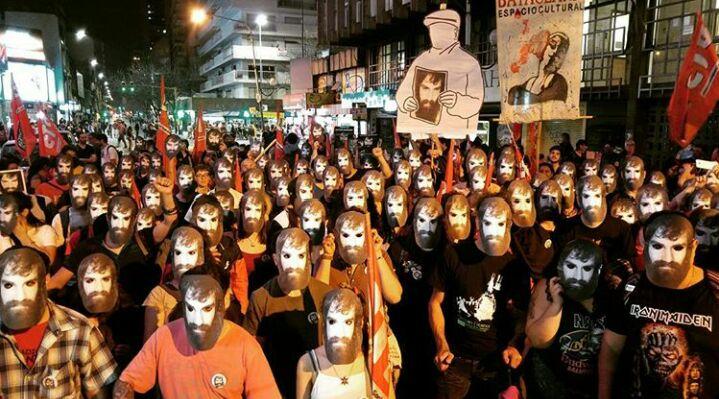 Marcha a 11 años de la desaparición de Julio López