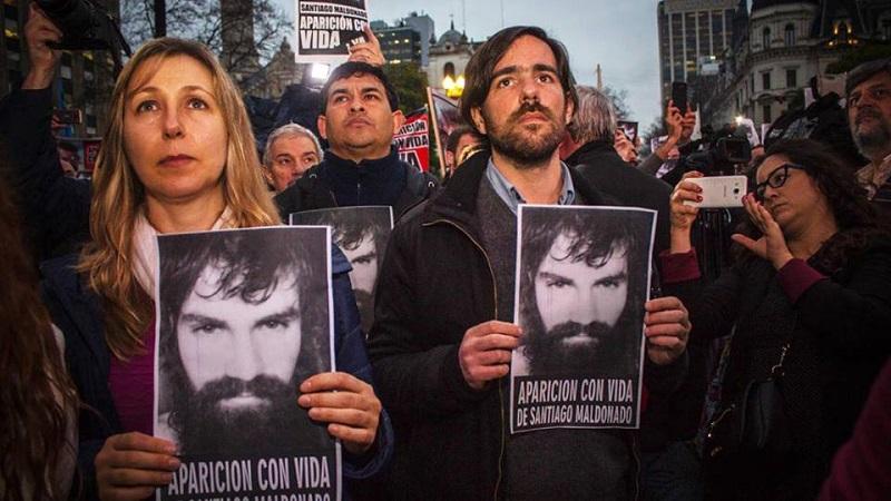 Santiago Maldonado: un gendarme habló de