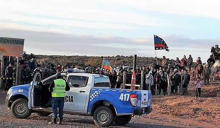 Comunidad mapuche denuncia violento desalojo — Neuquén