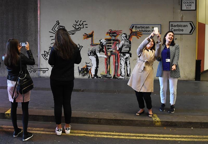 Aparecen dos nuevas obras de Banksy en Londres