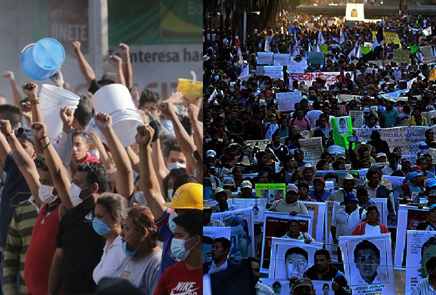 Jóvenes atacan instalaciones del Ejército en Iguala, Guerrero