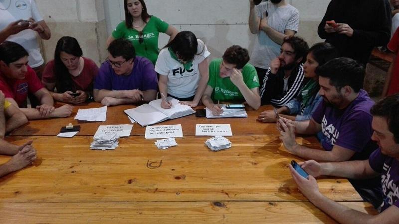 Franja Morada le arrebató a los K la Federación Universitaria de Córdoba