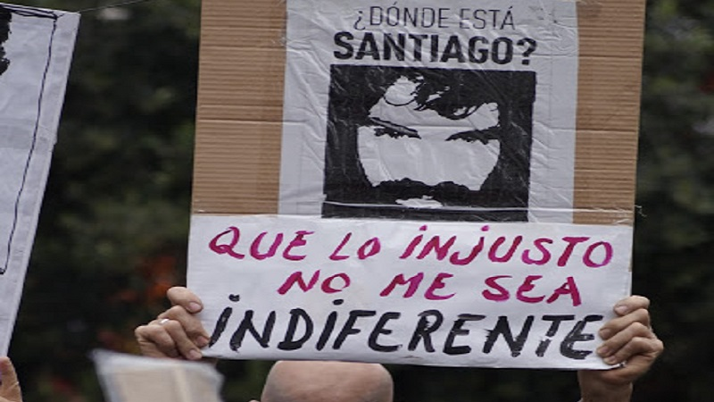 Diputados ya sesionan en Esquel — Santiago Maldonado