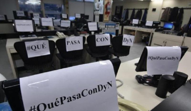 Cierran la agencia de noticias DyNy despiden a 100 trabajadores de prensa