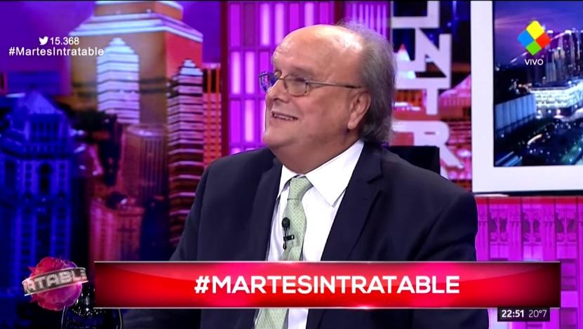 El furcio de José Ignacio De Mendiguren en Intratables: