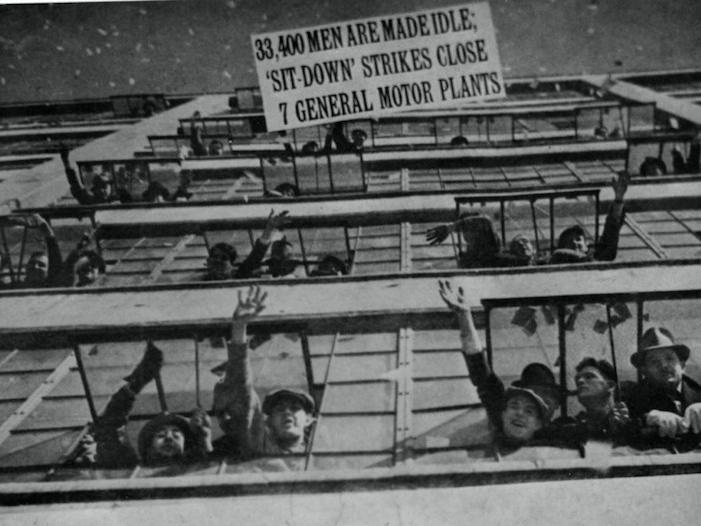 Si Ntese Compa Ero La Huelga Contra General Motors De 1936