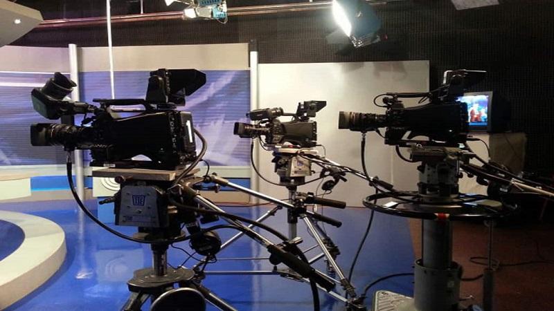Trabajadores de televisión realizan paro este martes