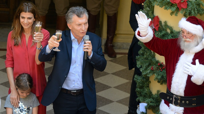 Presidente Mauricio Macri: