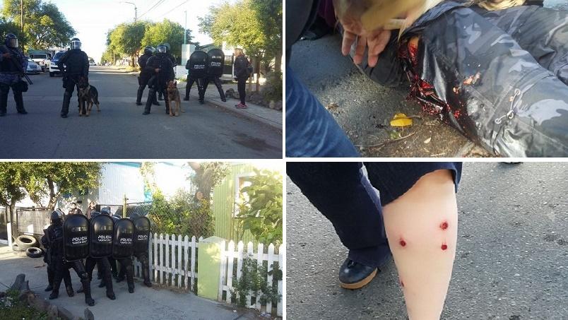 Graves incidentes en las afueras de la Legislatura de Santa Cruz