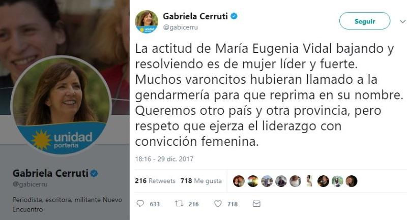 María Eugenia Vidal enfrentó un piquete en Mar del Plata:
