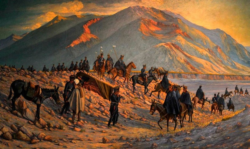 El pueblo mapuche y la campaña libertadora de San Martín