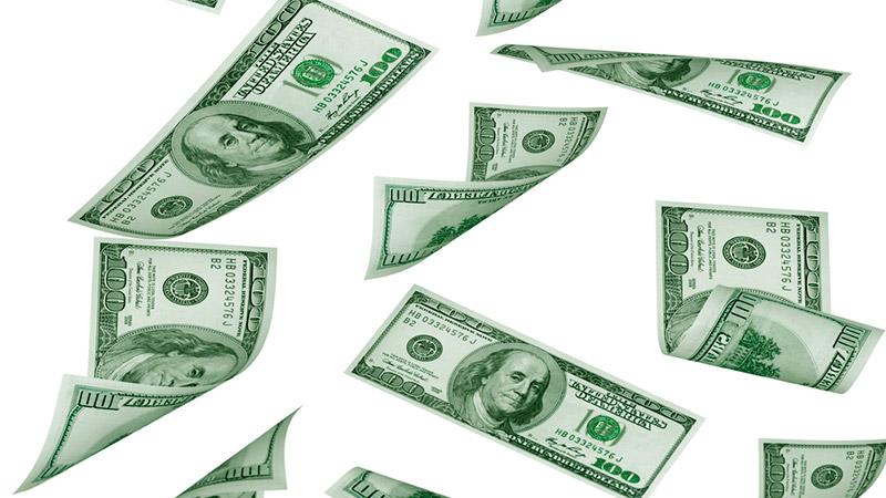 Tras la moderada baja de tasas, el dólar se desplomó 32 centavos