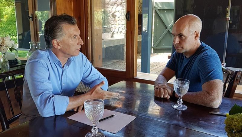Reunión cumbre: Macri y Vidal en el sur