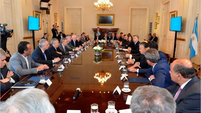 Macri pidió trato preferencial con gobernadores que apoyaron las reformas