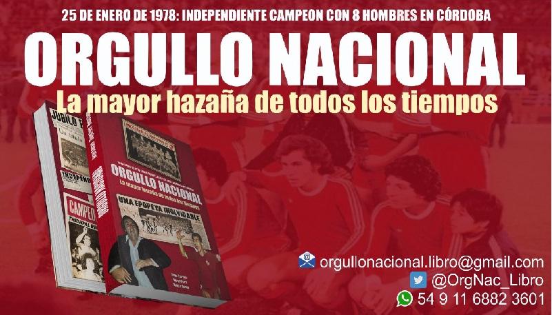 """482e2931e0a9 Independiente  se lanza el libro """"Orgullo Nacional"""