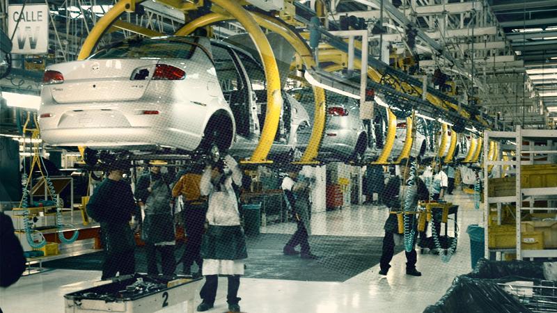 La industria utilizó el 64% de su capacidad instalada en diciembre