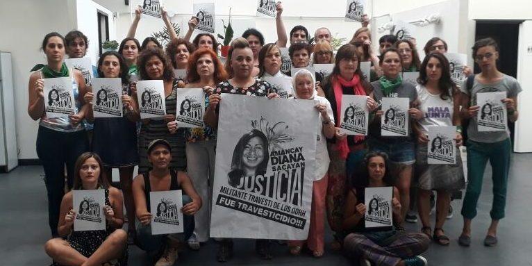 El lunes comienza el juicio por el travesticidio de Diana Sacayán,