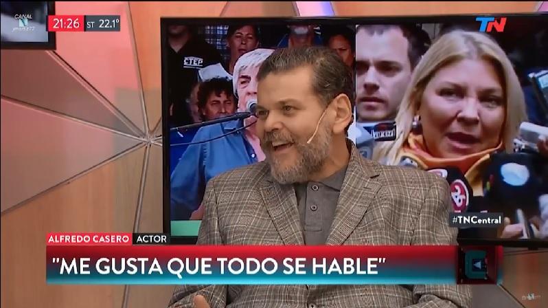 Alfredo Casero comparó a las feministas con los femicidas
