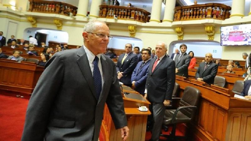 Kuczynski declaró a comisión legislativa por caso Odebrecht