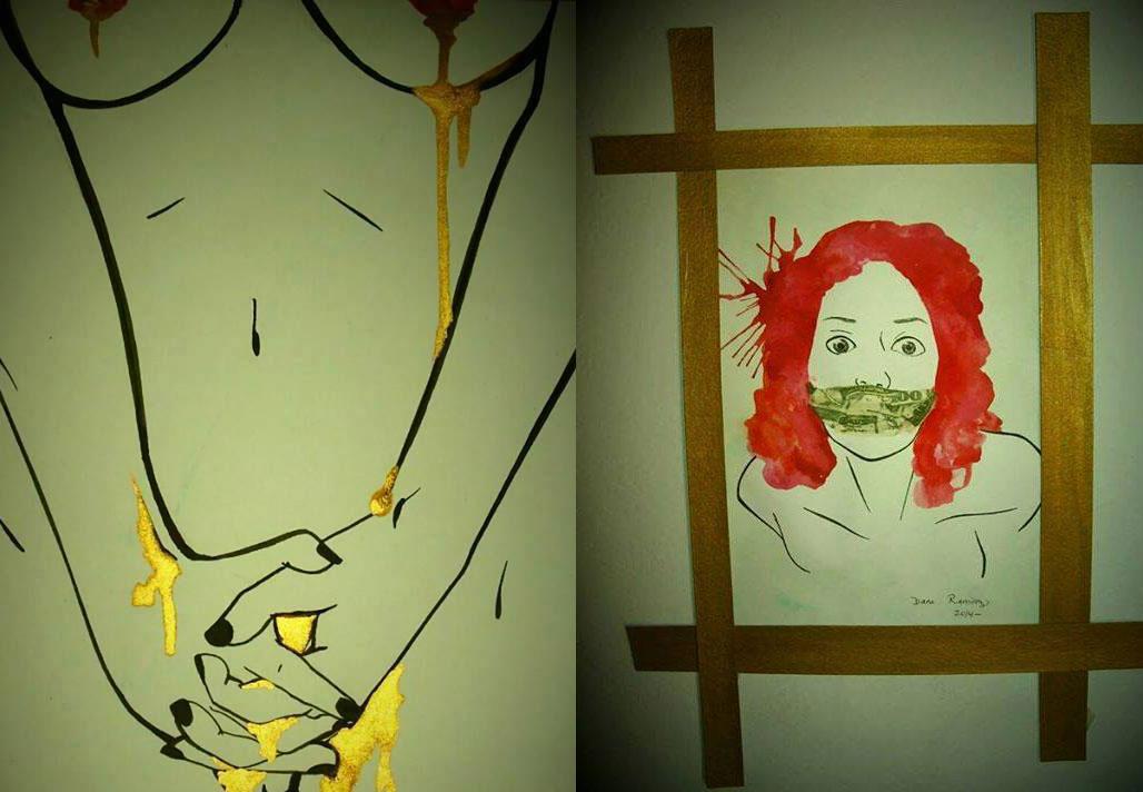 NiUnaMenos: Más de 70 obras en La Caja Roja, miles en las calles