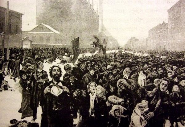 """9 de enero de 1905: el """"domingo sangriento"""" que inició la revolución"""