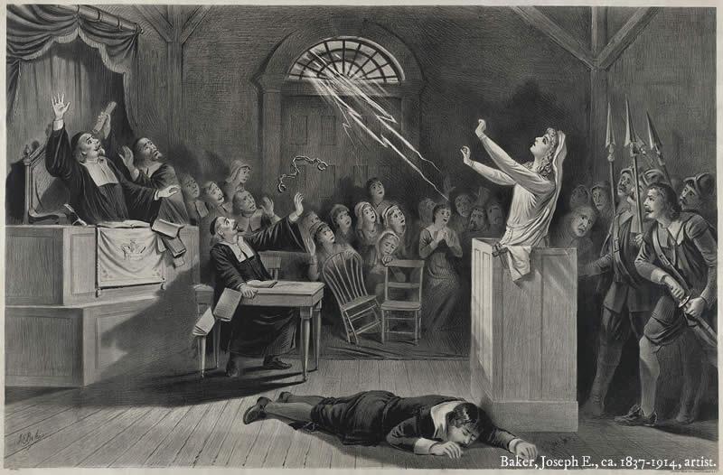 """Resultado de imagen de matanza de las """"Brujas de Salem"""""""
