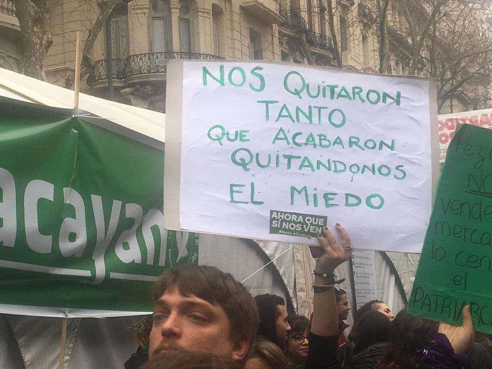 Fotos Abortolegal Los Carteles De Las Pibas