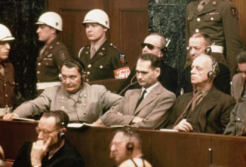 Resultado de imagen para imagenes juicio de nuremberg