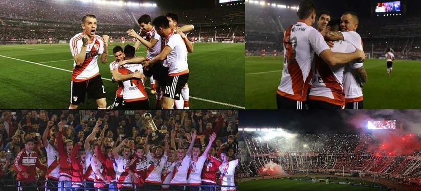 River bicampeón de la Recopa Sudamericana