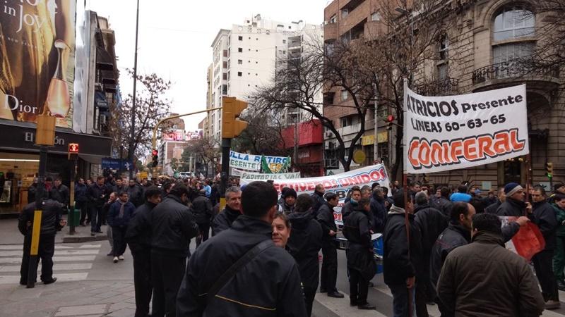 Cuarto día de paro de transporte en Córdoba