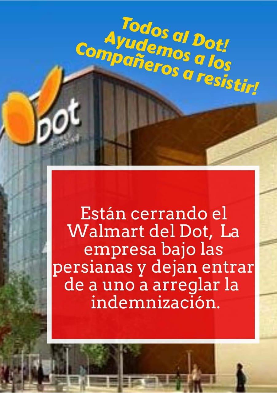 Walmart cierra el local del DOT y vende otras 12 sucursales